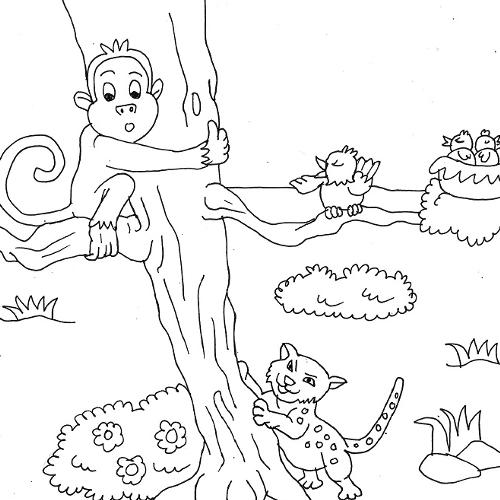 Follow The Leader Coloring Page Coloring Pages